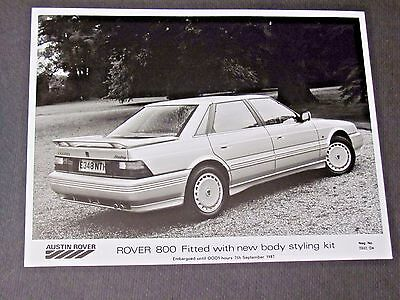 Rover 800 Fitted Original Press Photo....