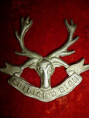M117 - The Pictou Highlanders of Canada Cap Badge - Canada WW2