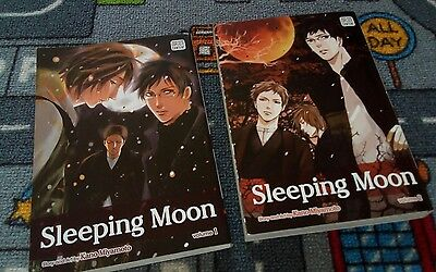 sleeping moon 1 & 2 yaoi manga