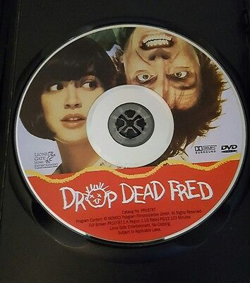 Drop Dead Fred DVD Rik Mayall Phoebe Cates classic comedy film imaginary friend