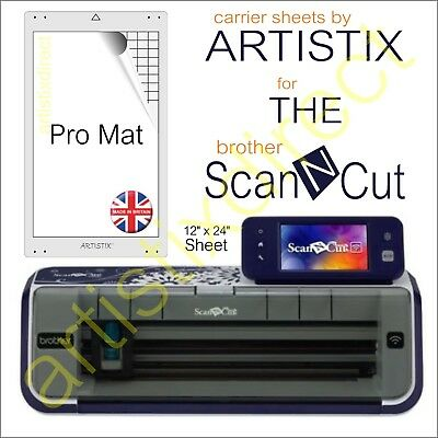 Scan N Cut Artistix Cutting Mat Carrier Sheet Scanncut 12 x 24