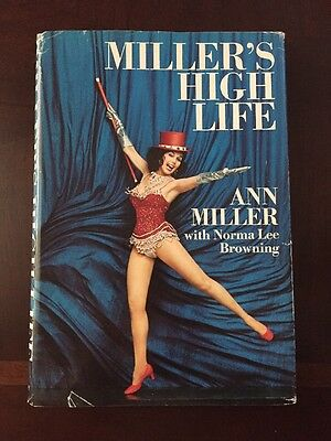 Miller's High Life by Ann Miller (1972, Hardcover) 1st Edition