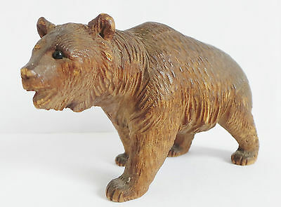 BEAUTIFUL 19th CENTURY BLACK FOREST CARVED BEAR - QUALITY