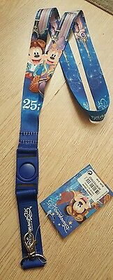 Disneyland Paris LANIERE 25E / LANYARD 25 Years Pin
