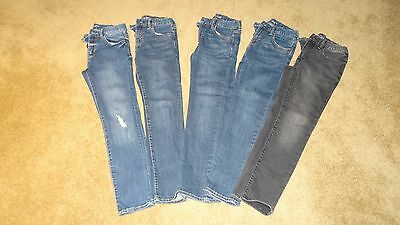Lot of 5 GapKids Regular Skinny Boys Size 10