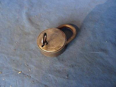 Vintage antique BKS padlock