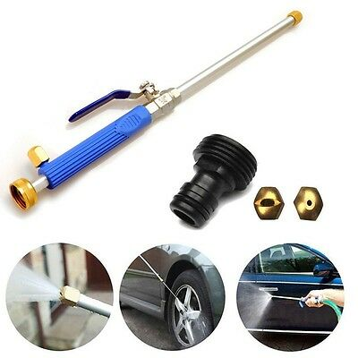 High Pressure Power Washer Spray Nozzle Water Jet Hose Car Wand Cleaning Tool