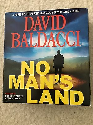 John Puller: No Man's Land by David Baldacci (2016, CD, Unabridged)