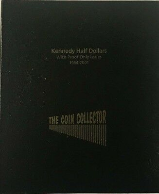 The Coin Collector Collection Album US Kennedy Half Dollars 1964 Not Dansco NEW