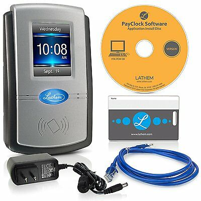 Lathem PC600 Touch Screen Time Clock System