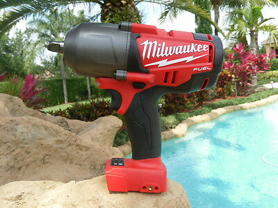 "Milwaukee 1/2"" Impact Wrench Fuel Brushless w/ Friction Ring Hi Torque 2763-20"