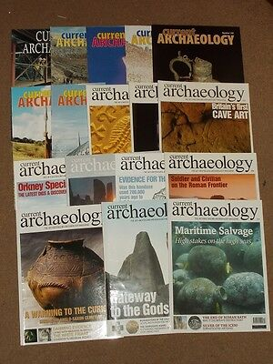 Current Archaeology Magazine. 17 Different Issues Between 1998-2008.