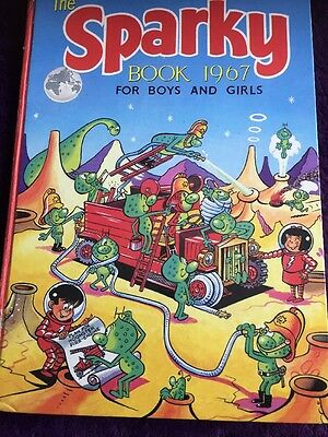 The Sparky Book For Girls And Boys 1967 Rare