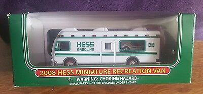 Hess Gasoline 2008 Miniature Recreation Van