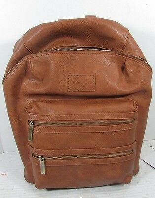 The Honest Company Beige Vegan leather Diaper City Backpack Changing Bag  Babies