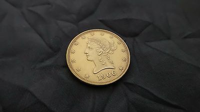 Great 1906-D Liberty Head $10 Gold Eagle - Choice Uncirculated