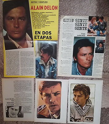 alain delon clipping argentina and chile magazine
