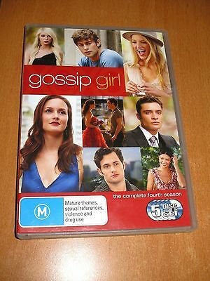 Gossip Girl : The Complete Fourth Season 4 - [ 5 Disc ] Set Dvd Region 4