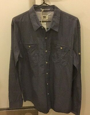 Rusty Men's Shirt Medium New With Tags *Free Postage*