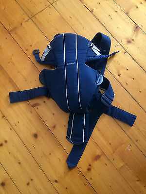 BABYBJORN Baby Carrier Active Enhanced Back Support - Blue
