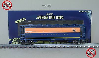 American Flyer (High Rail) 6-48652 Jersey Central CNJ Cylindrical Hopper Car