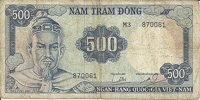 SOUTH VIETNAM    500 Dong (1966);  P-23