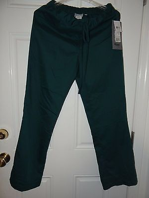 Greys Anatomy Scrub Pants Junior Fit Deep Forest Size Small NWT