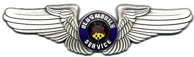 LAST of the Classic Oldsmobile Service Deluxe Pilot Wings #2