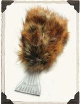 Victorian Trading Co. Faux Fox Fur Ice Scraper New