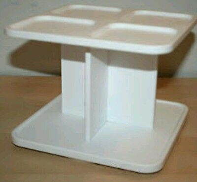 NEW Tupperware Spice Carousel for  Modular Mates Spice Containers White