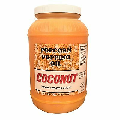 Paragon Coconut Popcorn Popping Oil (Gallon), New, Free Shipping