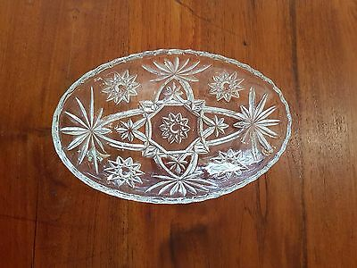 Antique Bohemian Crystal Bowl