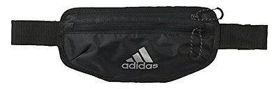 adidas RUN WAISTBAG Marsupio, Unisex, Nero, NS