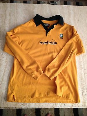 Mens Australia Rugby World Cup 2003 Jersey shirt size M