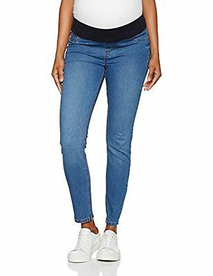 New Look Maternity Underbump Anna Jegging, Jeans Maternità Donna, Blu (Mid Blue
