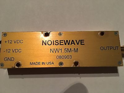 NOISEWAVE NW1.5M-M 1.5 MHz Amplified Noise Module SMA