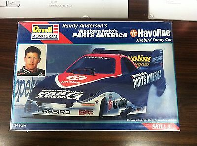 New Revell Monogram Firebird Funny Car Model Drag Kit Randy Anderson Havoline