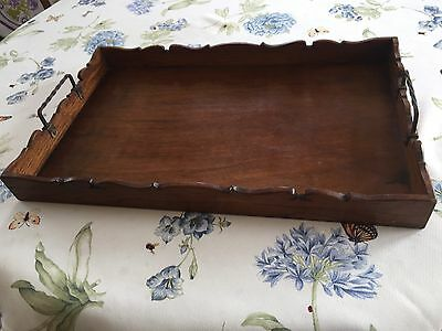 Vintage French Wooden tray