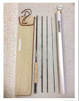 Sage DS 690-4  6 weight,  4 piece fly rod