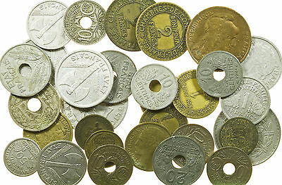 France, Bulk Collection Of Coins, 109 Grams, 20Th Century