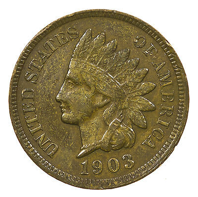 United States, Indian Head Cent, Usa, 1903