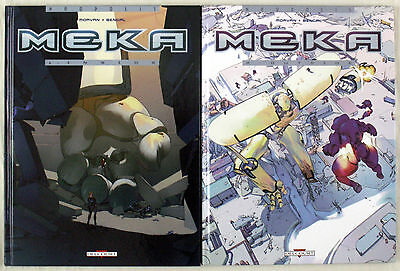 Morvan & Bengal - Meka Tome 1&2 Eo - Serie Complete - Delcourt - Tbe
