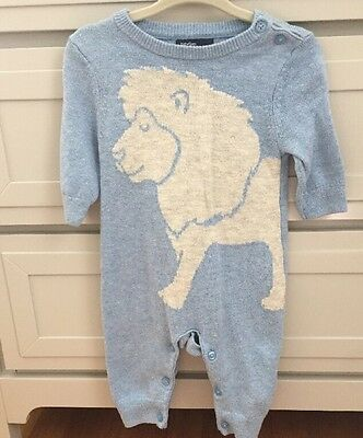 Baby Gap one Piece Baby Boy Lion Sweater Outfit 0-3 Months