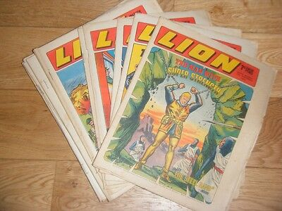 Lion Comic - Run Of 16 Issues - 1St Aug 1970 - 14Th Nov 1970