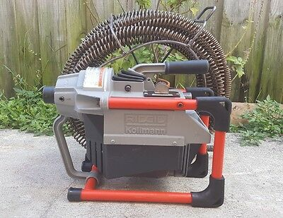 Ridgid K-60 Sectional Drain Cleaning Machine W/ 60ft Snake
