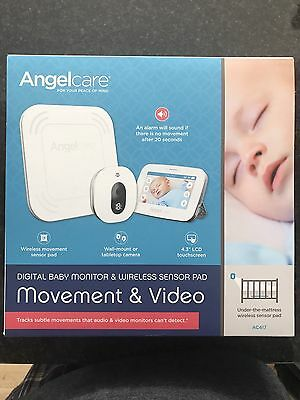 Angelcare AC417 Video, Wireless Movement and Sound Baby Monitor RRP £249.99