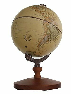 Vintage World Globe Antique Decorative Desktop Globe Rotating Earth Geography