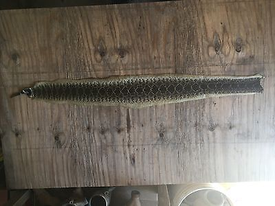 """Tanned rattlesnake skin craft taxidermy 41 1/2"""""""