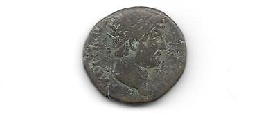 Ancient Roman Coin - Hadrian - Ae As(Anc- 674)