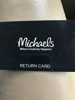 MICHAEL's Gift Card $59.14